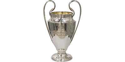 Champions League Football Trophies
