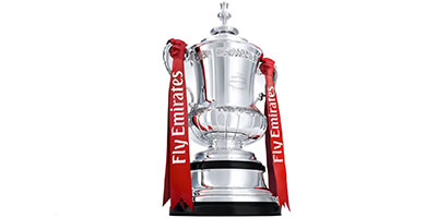 FA Cup Football Trophies