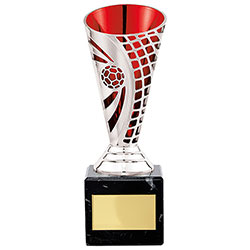 Red Defender Football Cups 170mm